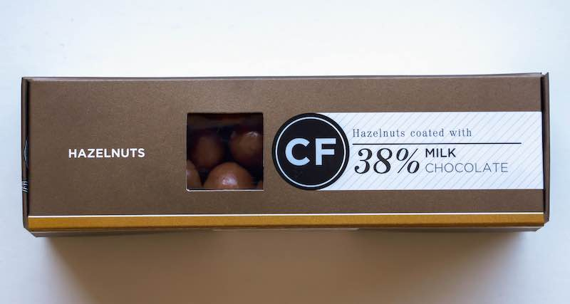 Cocoafair Hazelnuts coated in 45% Milk Chocolate
