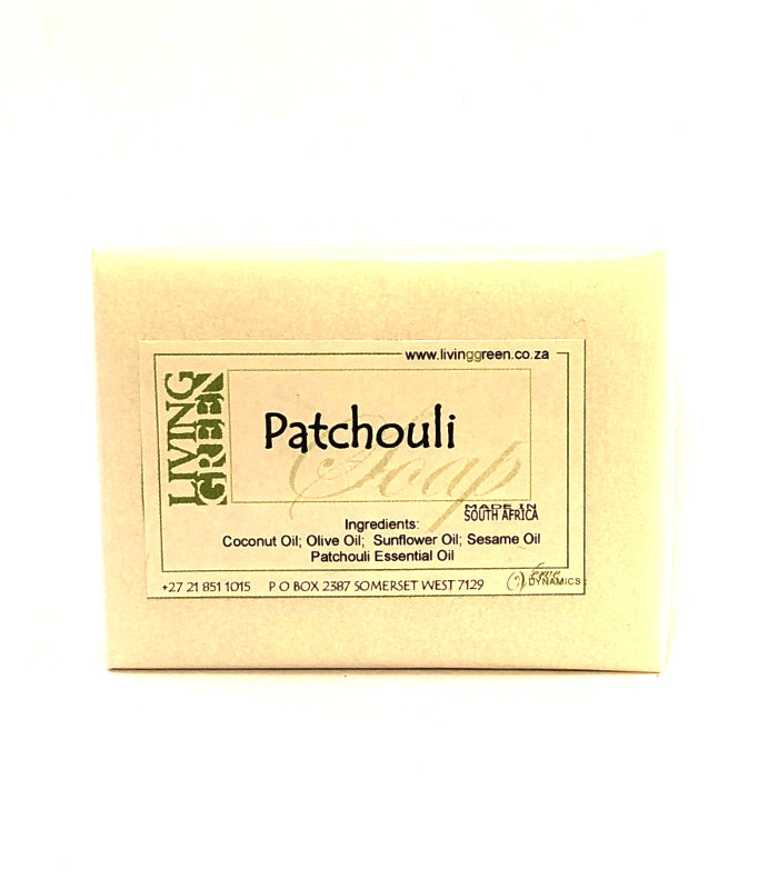 Living Green Patchouli Soap