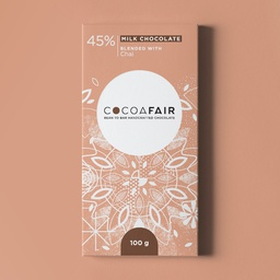 Cocoafair 45% Milk Chocolate with Chai