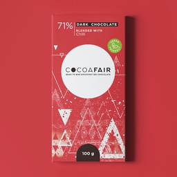 Cocoafair 71% Dark Chocolate with Chilli