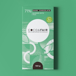 Cocoafair 71% Dark Chocolate with Mint